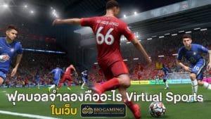 ฟุตบอลจำลองคืออะไร Virtual Sports ในเว็บ Biogaming1